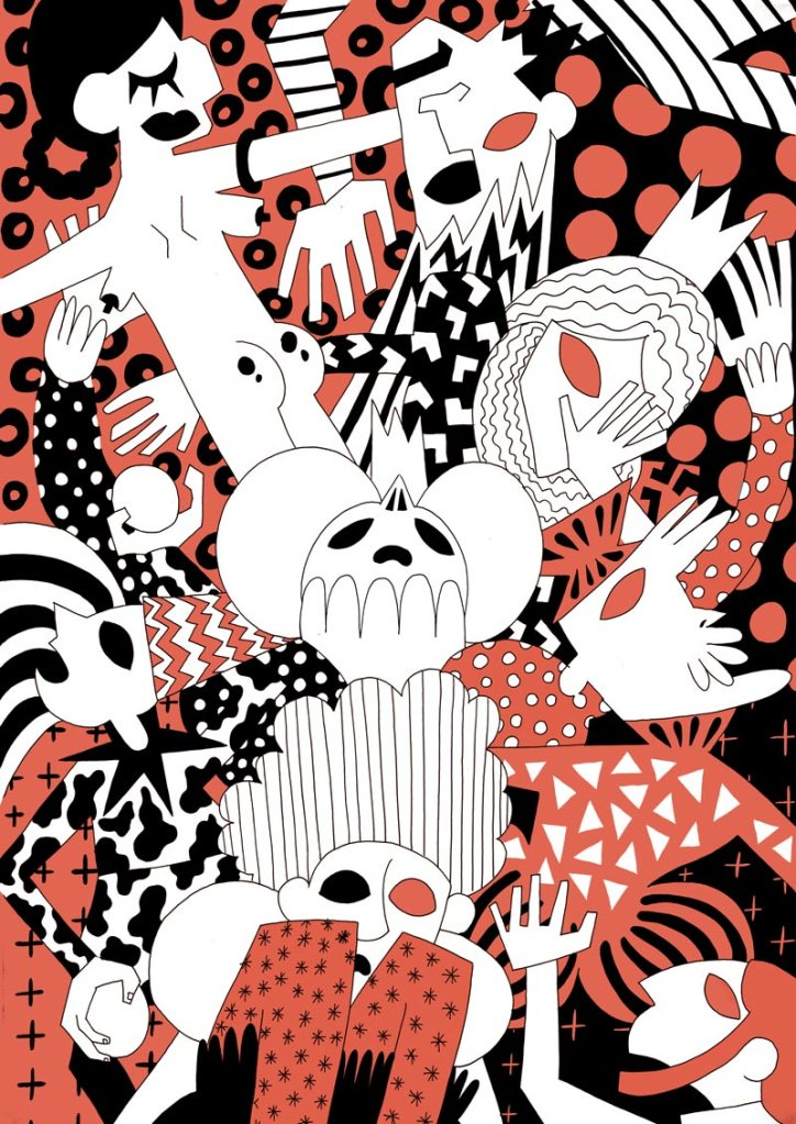 risography illustration